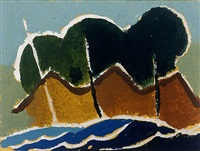 untitled (waves) by arthur dove