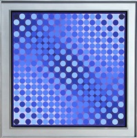 lot 270: cta - lila by victor vasarely