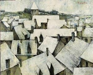paysage by michel de gallard