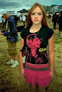 girl with bowie shirt, hempfest, seattle by alice wheeler