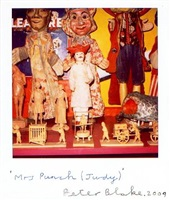 mrs punch (judy) by peter blake