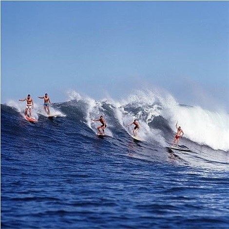 waimea no. 75, 1972 by leroy grannis