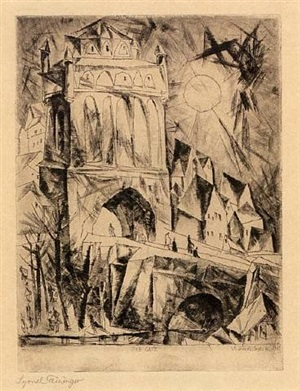 das tor (the gate) by lyonel feininger