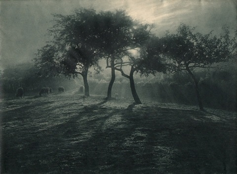 untitled landscape by léonard misonne