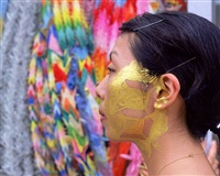 counter skin in hiroshima-3 gold by tatsuo miyajima