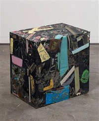 untitled (glyph cube) by jedediah caesar