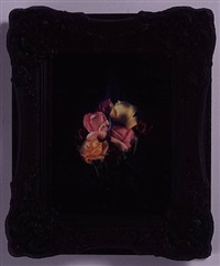 burning flowers iv by mat collishaw