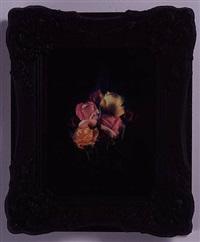 burning flowers iv by mat collishaw