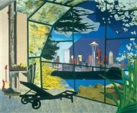 kurt cobain's greenhouse by dexter dalwood