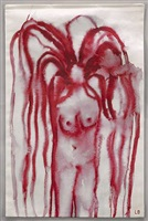 girl with hair by louise bourgeois