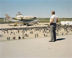 space shuttle columbia, texas by joel sternfeld