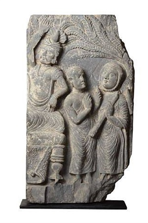 the death of buddah, gandharan