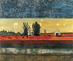 grasshopper by peter doig