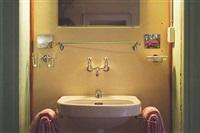 hotel bregaglia, sink, 2000/2009 by leta peer