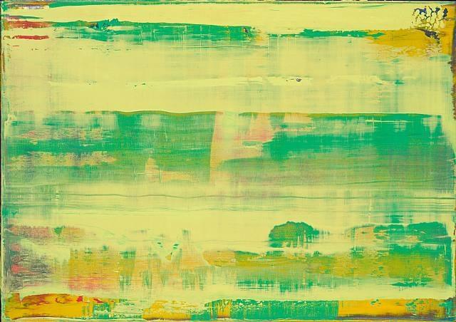 abstraktes bild (820-2) by gerhard richter