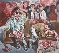 hospital series by zeng fanzhi