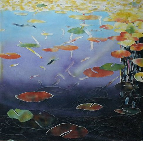 fish pond by alvin loving