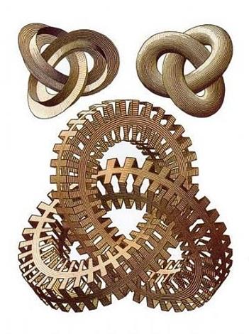 knots by m. c. escher