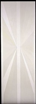 untitled (white butterfly) by mark grotjahn
