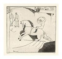 le jockey d'epsom (deuxieme planche) by jean-emile laboureur