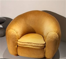 fauteuil ours polaire by jean royère