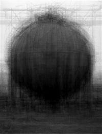 every bernd and hilla becher spherical gasholder by idris khan