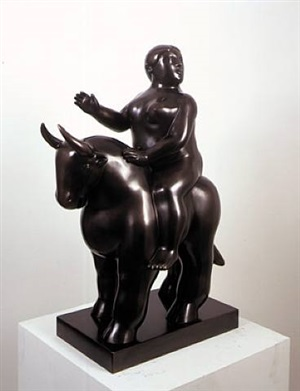 rape of europe by fernando botero