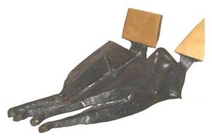 couple lying down by lynn chadwick