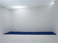 gonzalez-torres untitled (blue placebo) by sturtevant