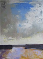 sky rise (sold) by ira barkoff