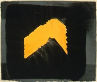 jarid's porch by howard hodgkin