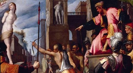 martyrdom of santa christina by filippo di benedetto paladini