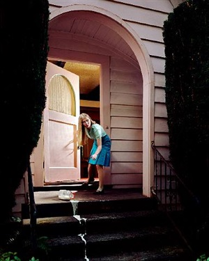 the spilt milk, from the series: sparrow lane by holly andres