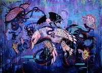 the hydra of babylon by camille rose garcia
