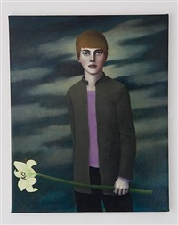 boy with lily by david hosie
