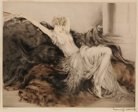 paresse by louis icart