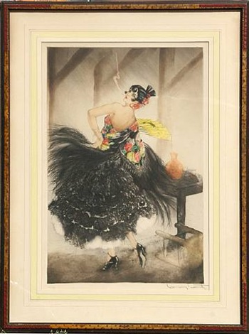 carmen by louis icart