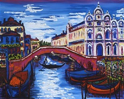 blue venice by ana tzarev