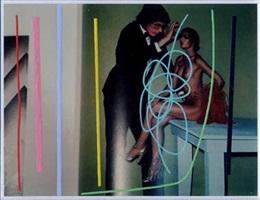 giant and nude, paris, 1974 by richard pettibone