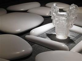 flat stone (detail) by mariko mori