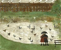 down by the pond by gary bunt