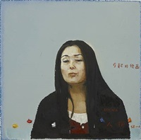 questionable paintings – person no.3 by zhang hui