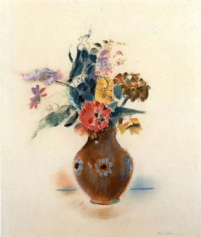 vase of flowers by max weber