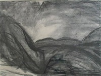 ronda vallery (from the casa de la cabeza) by david bomberg