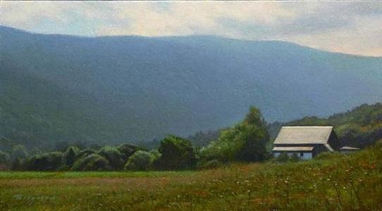 vermont landscape by peter bergeron