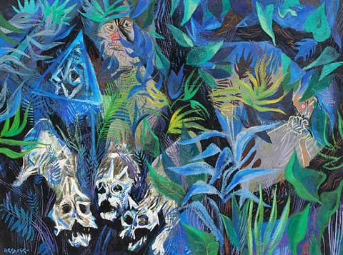the jungle by william gropper