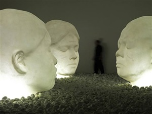 in the midst of dreams by jaume plensa
