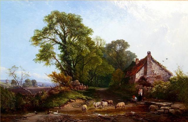 the village ford by henry john boddington