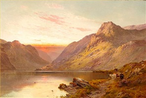 highland waters by alfred de breanski sr