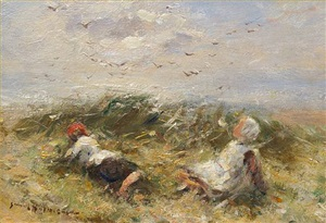 playing among the dunes by robert gemmell hutchison